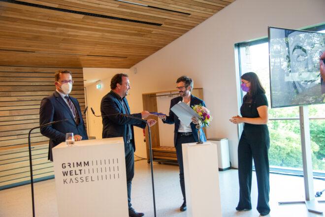 Preisverleihung 2021, Foto: Anja Köhne